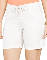 Lauren Ralph Lauren Plus Drawcord Chino Shorts White