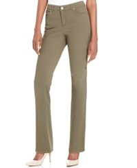Charter Club Lexington Straight Leg Jeans Only At Macy's Autumn Sage