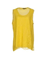 Seventy Topwear Tops Women Yellow