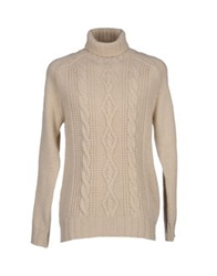 Calvin Klein Jeans Turtlenecks Beige