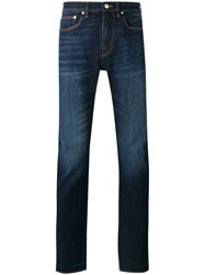 Paul Smith Ps By Mid Rise Straight Jeans Blue