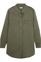 Equipment Major Cotton Shirt Army Green