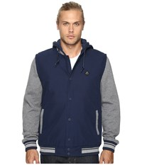 Rvca Puffer Stadium Ii Federal Blue Men's Clothing