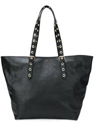 Red Valentino Adjustable Oversized Tote Black