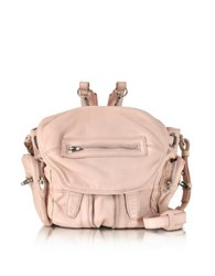 Alexander Wang Mini Marti Pale Pink Washed Leather Backpack