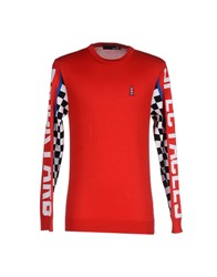 Love Moschino Knitwear Jumpers Men Red