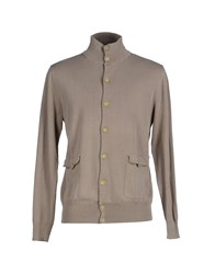Private Lives Knitwear Cardigans Men Beige