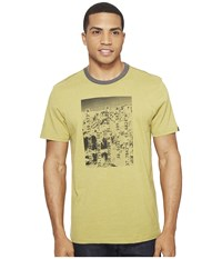 Prana Coordinates Ringer Tee Pear Men's T Shirt Green