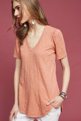 Anthropologie Outfield Tee Rose