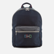 Paul Smith Ps By Men's Canvas Rucksack Navy