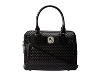 My Flat In London Alexia Satchel Black Satchel Handbags