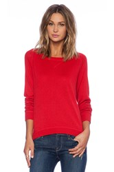 Candc California Cashmere Blend Sweater Red