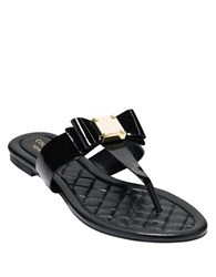 Cole Haan Tali Bow Sandals Black