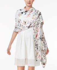 Inc International Concepts Butterfly Garden Wrap Only At Macy's Neutral