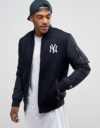 New Era Yankees Bomber Jacket Navy