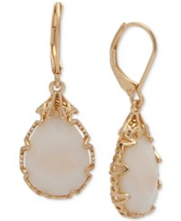 Lonna And Lilly Gold Tone Imitation Pearl Drop Earrings