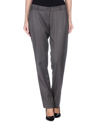 Divina Casual Pants Dark Brown