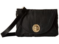 Baggallini Gold Seville Mini Black Cross Body Handbags