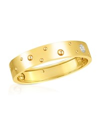 Roberto Coin Pois Moi Luna 18K Yellow Gold Bangle