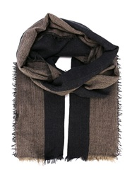Humanoid 'Wrap' Scarf Brown