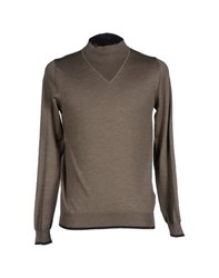 Nanibon Knitwear Turtlenecks Men Military Green