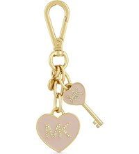 Michael Michael Kors Heart And Key Charm Ballet
