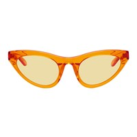 Han Kjobenhavn Orange Transparent Race Sunglasses