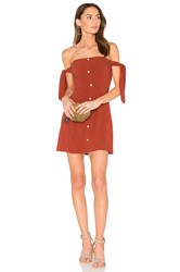 Capulet Giulia Mini Dress Rust