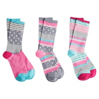Joules Brill Bamboo Stripe Ankle Socks Pack Of 3 Grey Multi