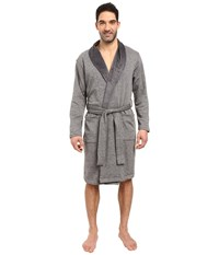 Ugg Robinson Shawl Collar Robe Granite Heather Men's Robe Gray