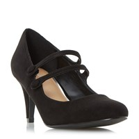 Linea Aida Mary Jane Courts Black