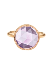 Irene Neuwirth Rose De France And Rose Gold Ring