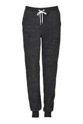 Topshop Tall Brushed Joggers Charcoal
