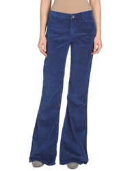 Theyskens' Theory Trousers Casual Trousers Women Bright Blue