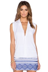 Sam Edelman Collared Blouse White