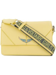 Zadig And Voltaire Lolita Shoulder Bag Yellow