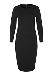 Hallhuber Jersey Shift Dress Black