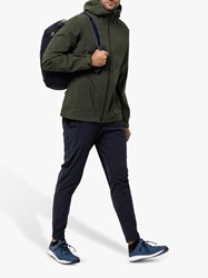 Jack Wolfskin Jwp Shell 'S Waterproof Jacket Green Pine