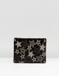 New Look Star Clutch Bag Bronze Copper