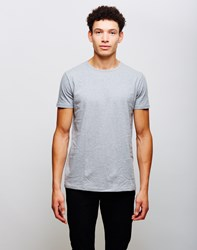 Edwin Double Pack Short Sleeve T Shirt Grey