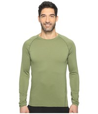 Smartwool Merino 150 Baselayer Long Sleeve Light Loden Men's T Shirt Olive