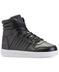 Sean John Men's Murano Supreme High Top Casual Sneakers From Finish Line Black White