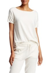 Ugg Jade Short Sleeve Sweater White