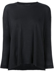 Piazza Sempione Round Neck Jumper Black