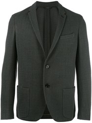 Fendi Tweed Blazer Green