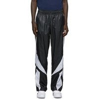Reebok Classics Black And White Twin Vector Track Pants