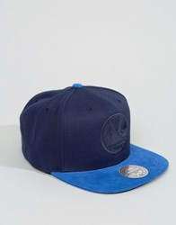 Mitchell And Ness Sanpback Cap Max Mini Cord Golden State Warriors Navy