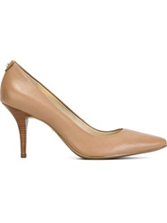 Michael Michael Kors Pointed Toe Pumps Nude And Neutrals