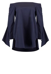 Tibi Tunic Dark Navy Dark Blue