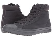 Converse Chuck Taylor All Star Boot Pc Shield Canvas Hi Almost Black Almost Black Reflective Men's Lace Up Boots